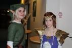 Celebert besök av självaste Link och Zelda.