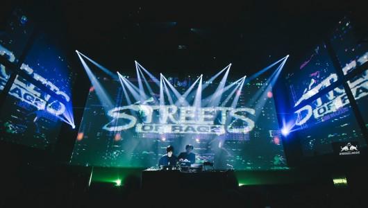 Klubbmusik i tv-spelens tecken på Berns i Stockholm fredagen den 2 november.